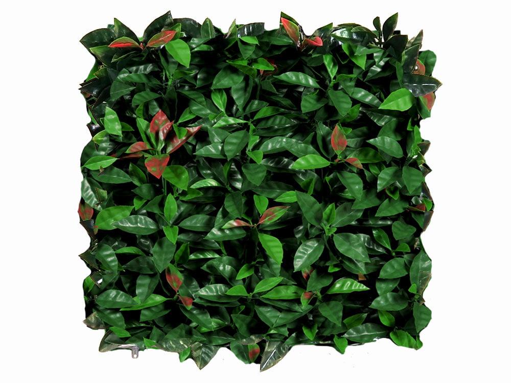 Kunst red Robin 50x50cm mat brandvertragend en UV bestendig I kunsthaagvoordeel