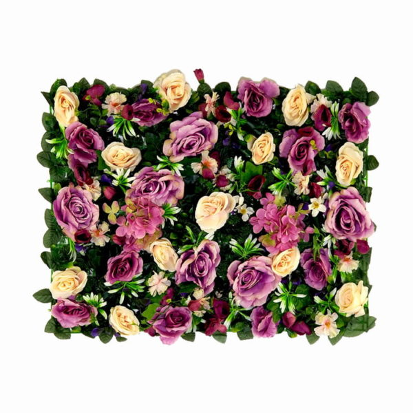 Vegetatie rozen en hortensia