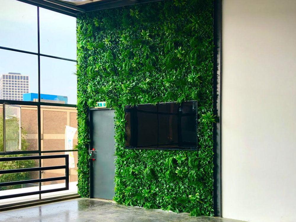Vegetatie Jungle plantenwand