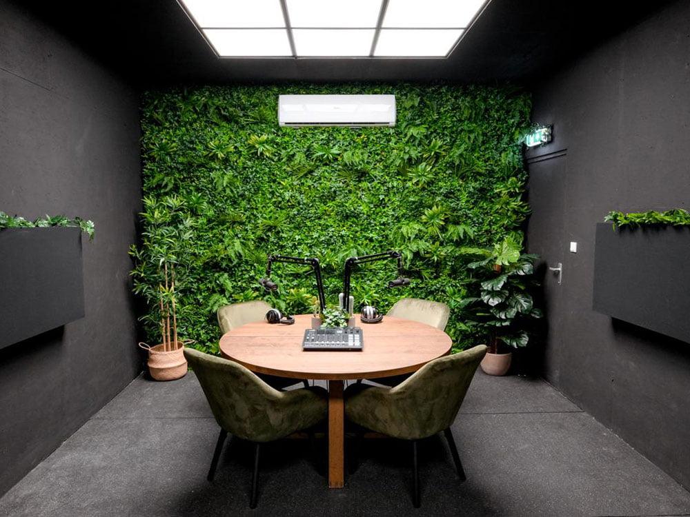 Vegetatie Jungle groen studio