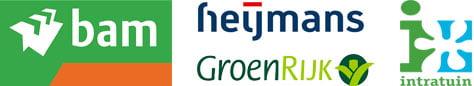 Kunsthaag voordeel klant referenties logos