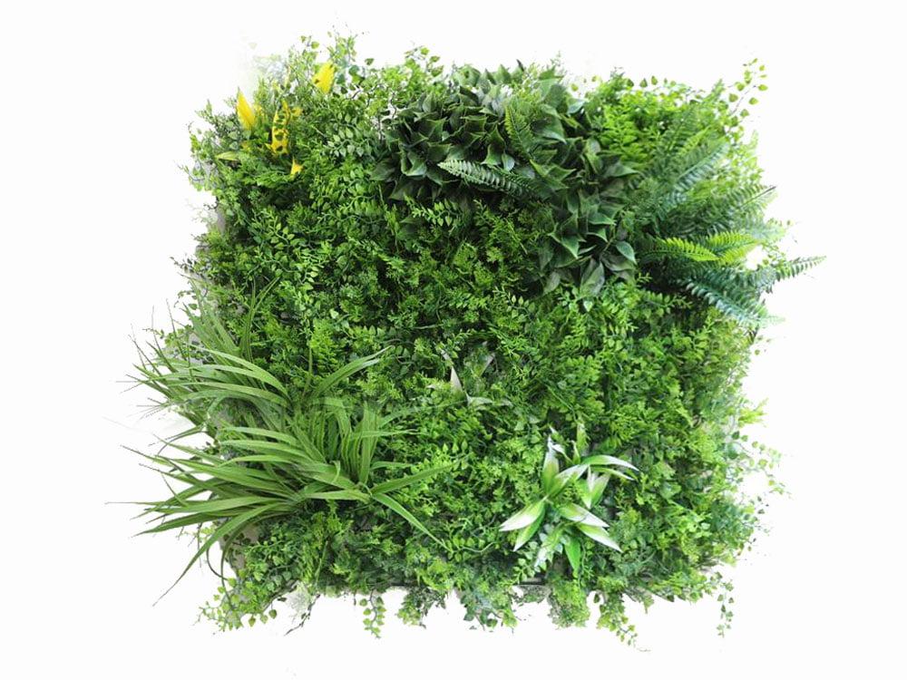 Vegetatie fijn Jungle kunsthaag-50x50cm
