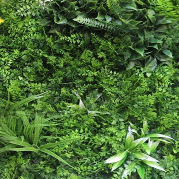 Vegetatie fijn Jungle kunsthaag-50x50cm detail2