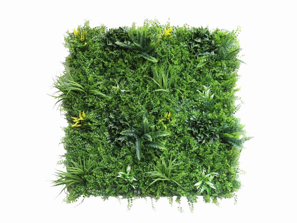 Vegetatie fijn Jungle kunsthaag plantenwand