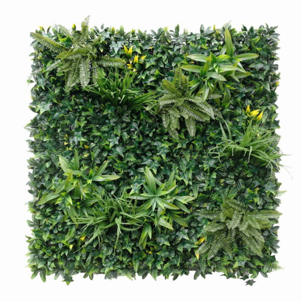 Vegetatie Jungle groen plantenwand