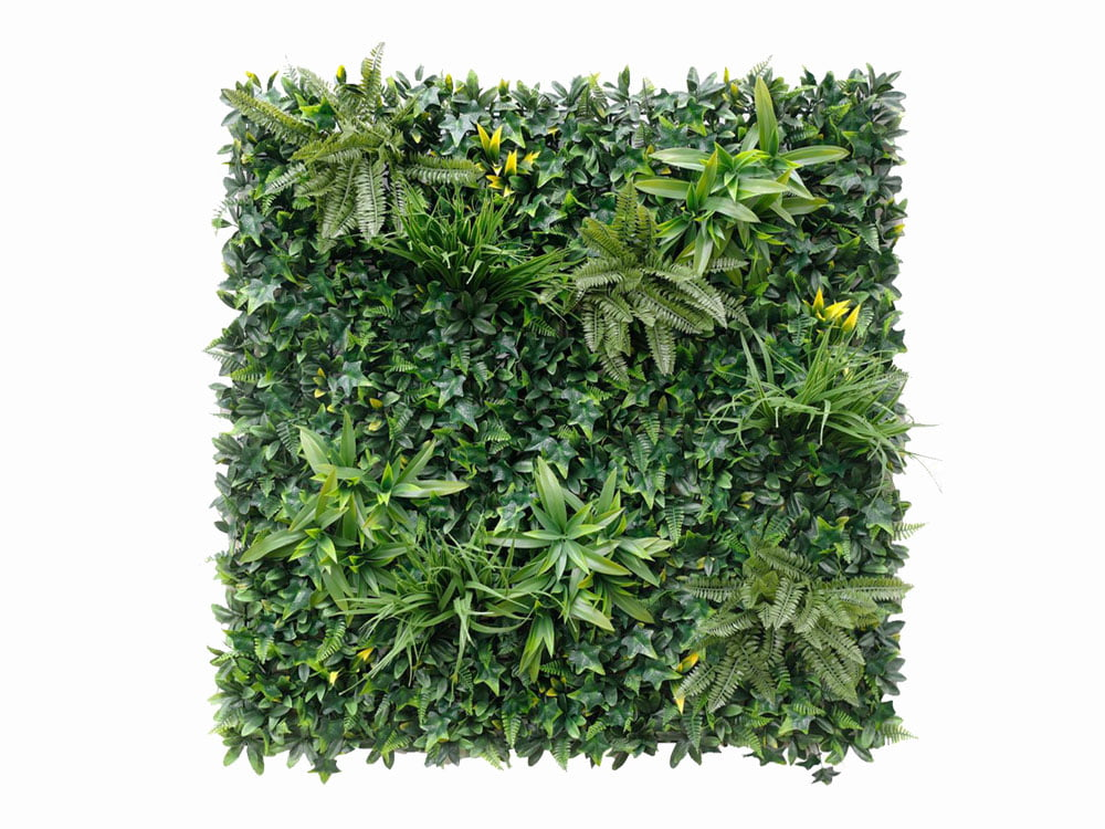 Vegetatie Jungle groen plantenwand