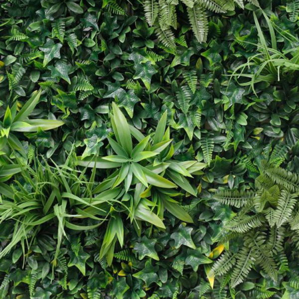 Vegetatie Jungle groen plantenwand detail
