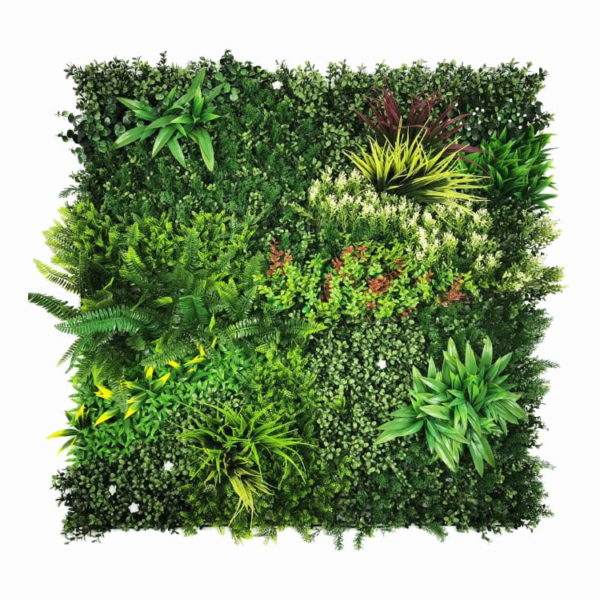 Vegetatie colorful jungle Plantenwand