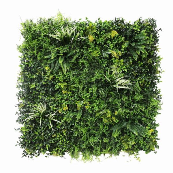 Vegetatie fijn gevarieerd Plantenwand