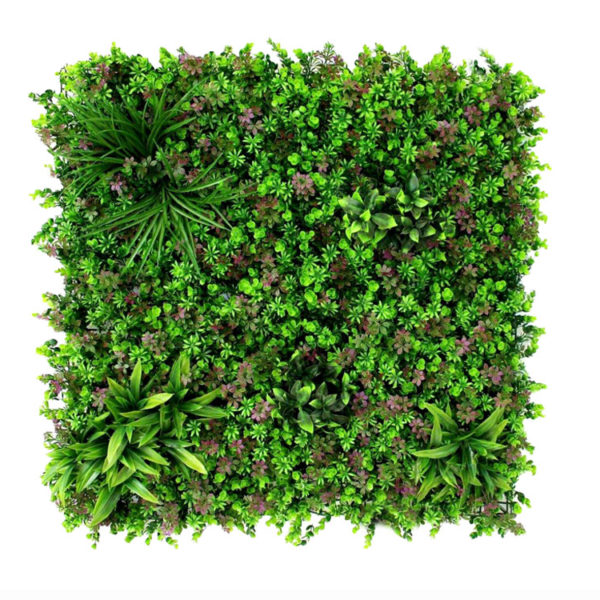 Jungle Purple forrest Plantenwand 100x100cm
